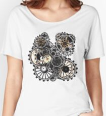 Steampunk Gears on your Gear No.2 Women's Relaxed Fit T-Shirt