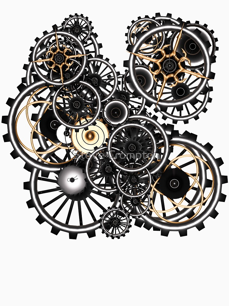 Steampunk Gears on your Gear No.2 by SC001