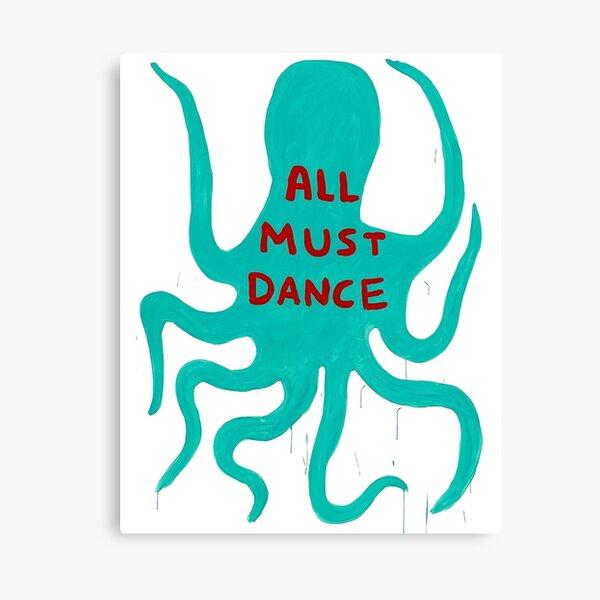 Sqiud Davids Dance Poster Canvas Print