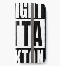 Nate Diaz Nick Diaz, Straight Outta Stockton iPhone Wallet/Case/Skin