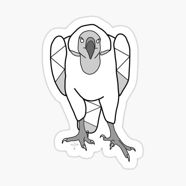 Cape Griffon Vulture (Courage) Sticker