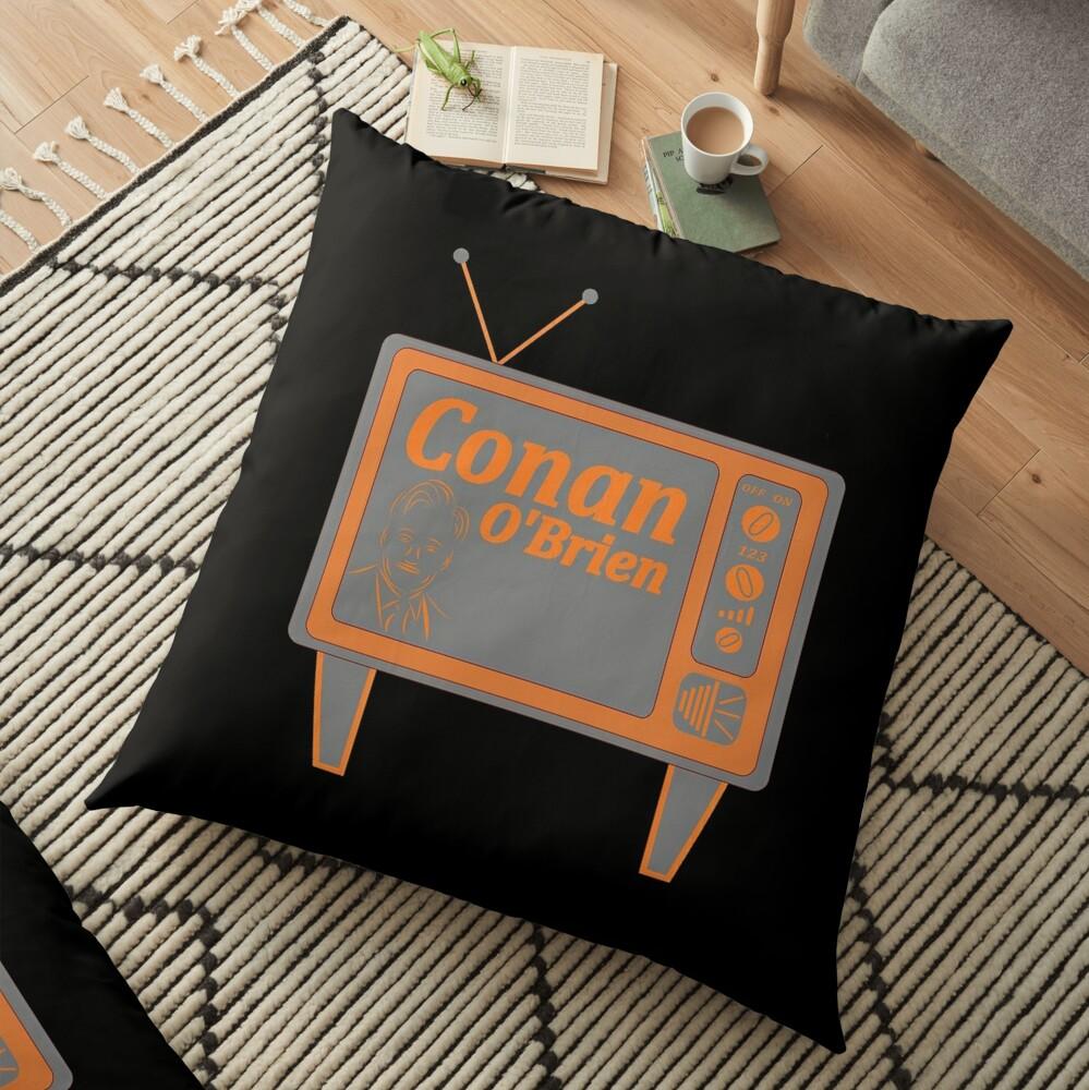 Conan O'Brien Floor Pillow