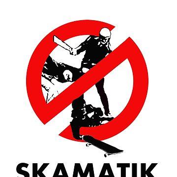 Skate against brutality  by Skamatik