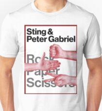 STING & PETER GABRIEL Unisex T-Shirt