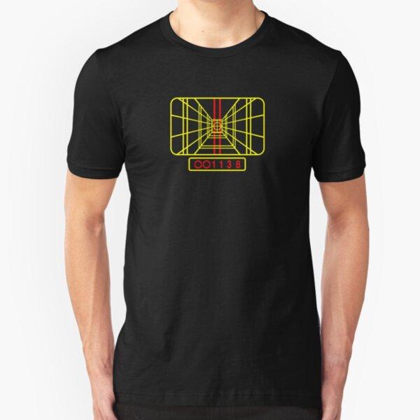 Bleib fokussiert Slim Fit T-Shirt
