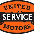 United Service vintage sign reproduction. by htrdesigns