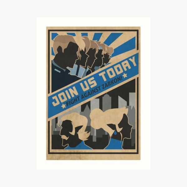paladins, we need you! Art Print