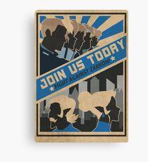 paladins, we need you! Canvas Print