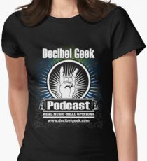 Decibel Geek  - Horns Up! Women's Fitted T-Shirt