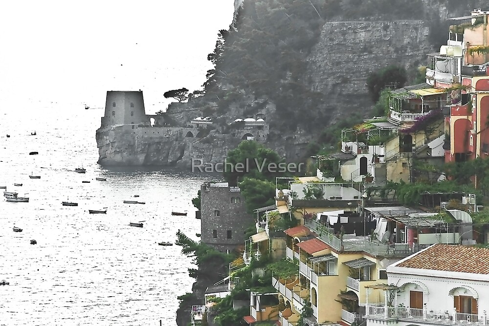 Positano, Amalfi Coast, Italy by Rachel Veser