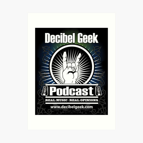 Decibel Geek  - Horns Up! Art Print