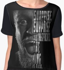 'SURPRISE, SURPRISE MOTHERFUCKER. THE KING IS BACK' Conor McGregor Chiffon Top
