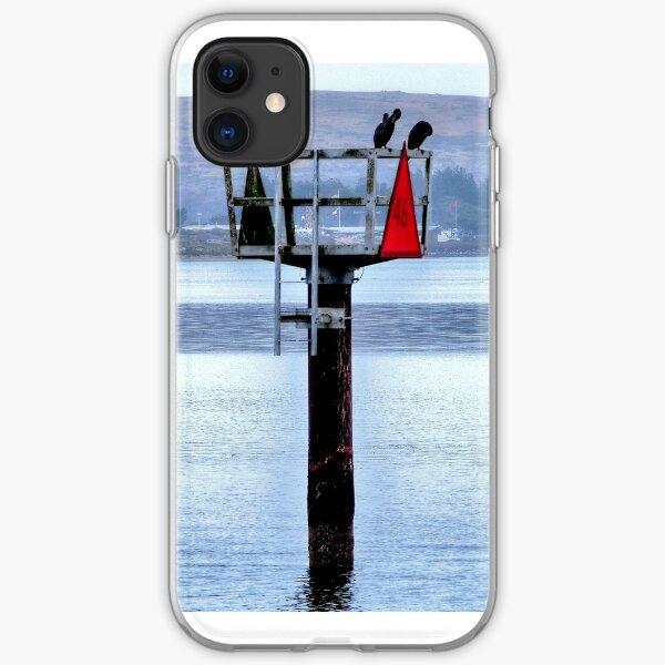 bird watch... iPhone Soft Case