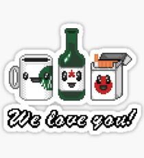 True love Sticker