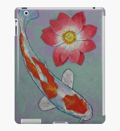 Koi and Lotus iPad Case/Skin