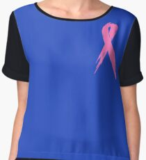 Cancer Awareness Women's Chiffon Top