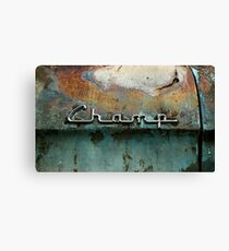 Rusty Studebaker Champ Pickup - Detail Canvas Print
