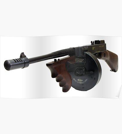 The Thompson Submachine Gun Poster
