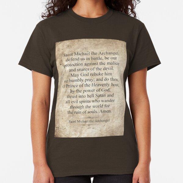 Saint Michael the Archangel Classic T-Shirt