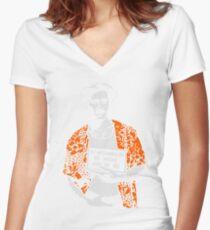 h.i. Women's Fitted V-Neck T-Shirt