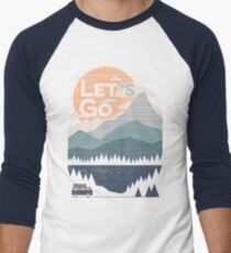 Let's Go Men's Baseball ¾ T-Shirt