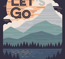 Let's Go by thepapercrane