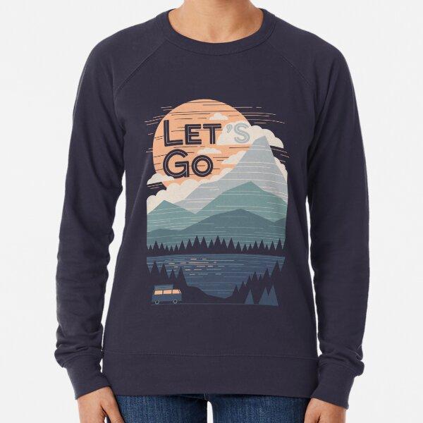 Lass uns gehen Leichter Pullover