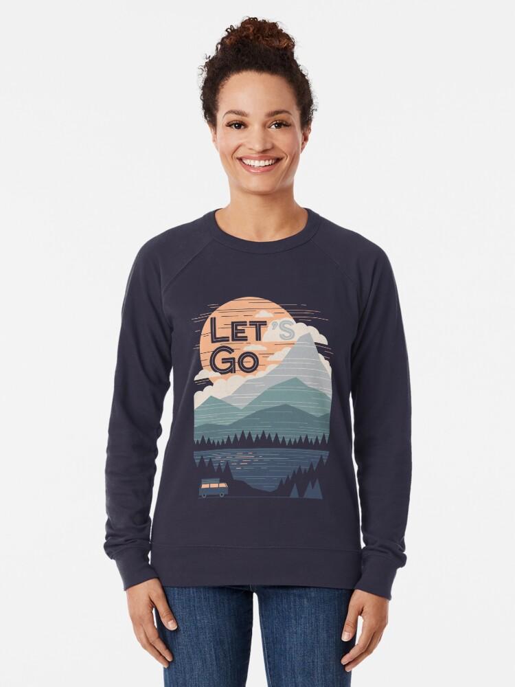 Alternate view of Let's Go Lightweight Sweatshirt