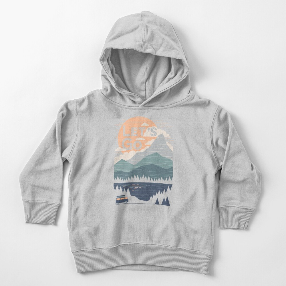 Let's Go Toddler Pullover Hoodie