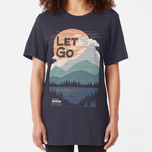 Let's Go Slim Fit T-Shirt