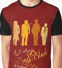 Four Marauding Marauders Graphic T-Shirt