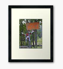 Swamp people... Framed Print