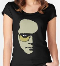 Author. Dreamweaver. Visionary. Plus Actor.  Women's Fitted Scoop T-Shirt