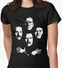 I See a Little Silhouetto of an Anchorman Women's Fitted T-Shirt