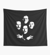 I See a Little Silhouetto of an Anchorman Wall Tapestry