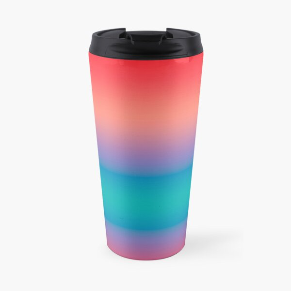 Summer Ombre  Travel Mug