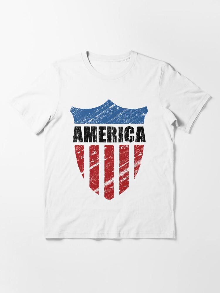 Alternate view of America Essential T-Shirt