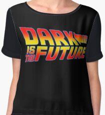 Dark is the Future Chiffon Top