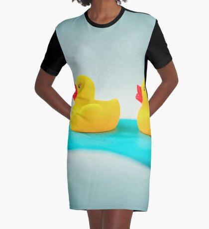 Gummienten T-Shirt Kleid