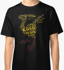 Chocobo Typography Classic T-Shirt