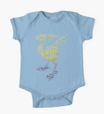 Chocobo Typography Kids Clothes