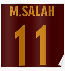 M.SALAH 11 Poster