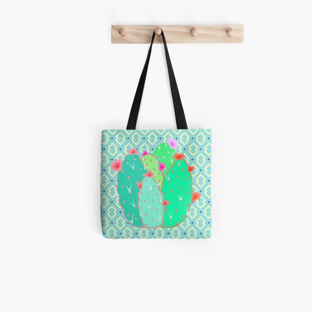Pear Cactus Tote Bag