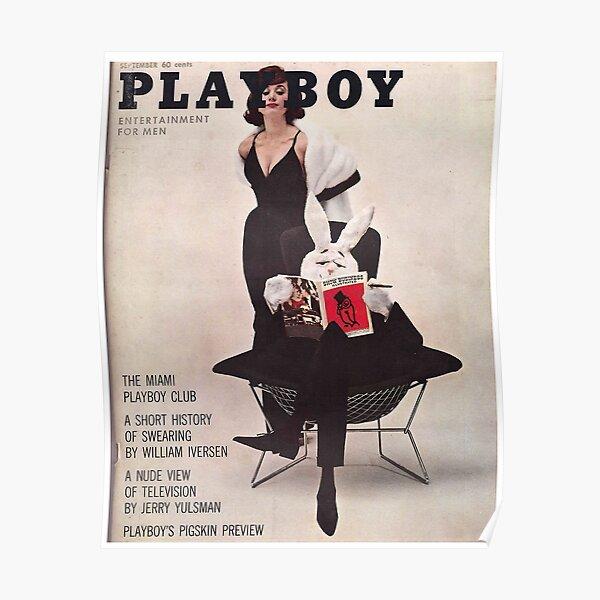 Revista Playboy Septiembre de 1961 Póster