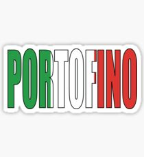 Portofino. Sticker