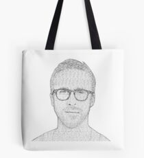 Hey Girl - Black and White Tote Bag
