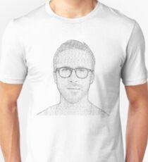 Hey Girl - Black and White Unisex T-Shirt