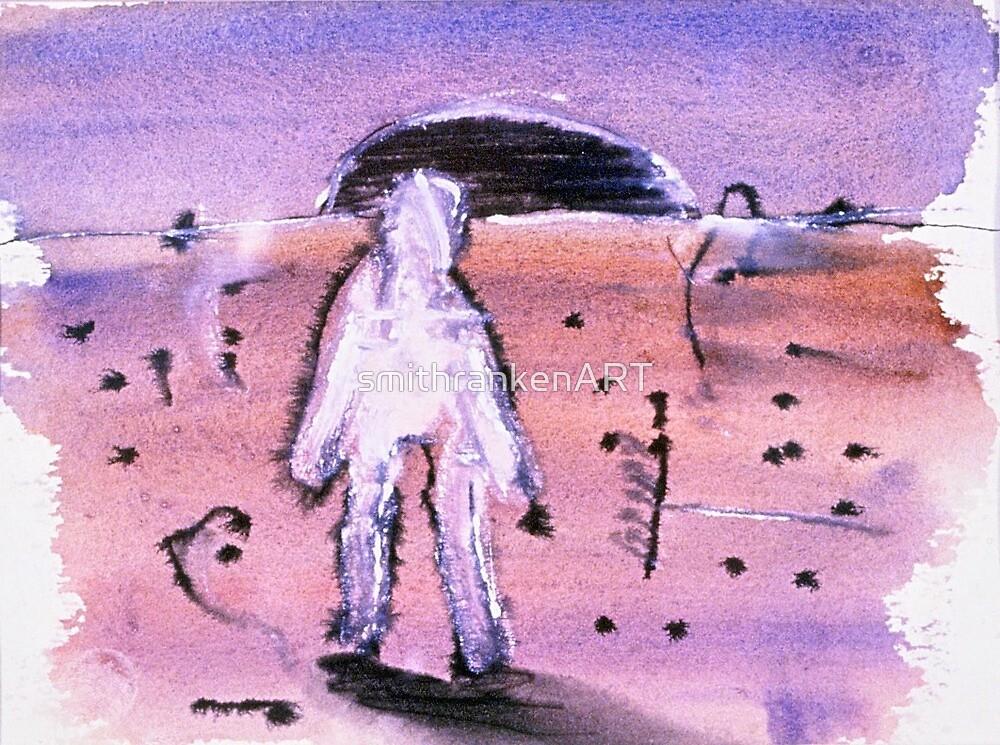 walking man by smithrankenART