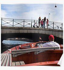 Tourist Boat Poster