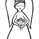 Angel Flowers by Soxy Fleming